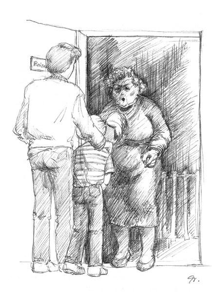 Simmi und der Frechdachs - Illustration Evelyn Filep